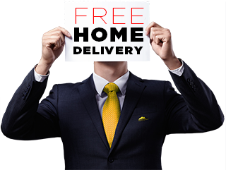 Receive Free Home Pickup and Delivery for your Dry Cleaning.