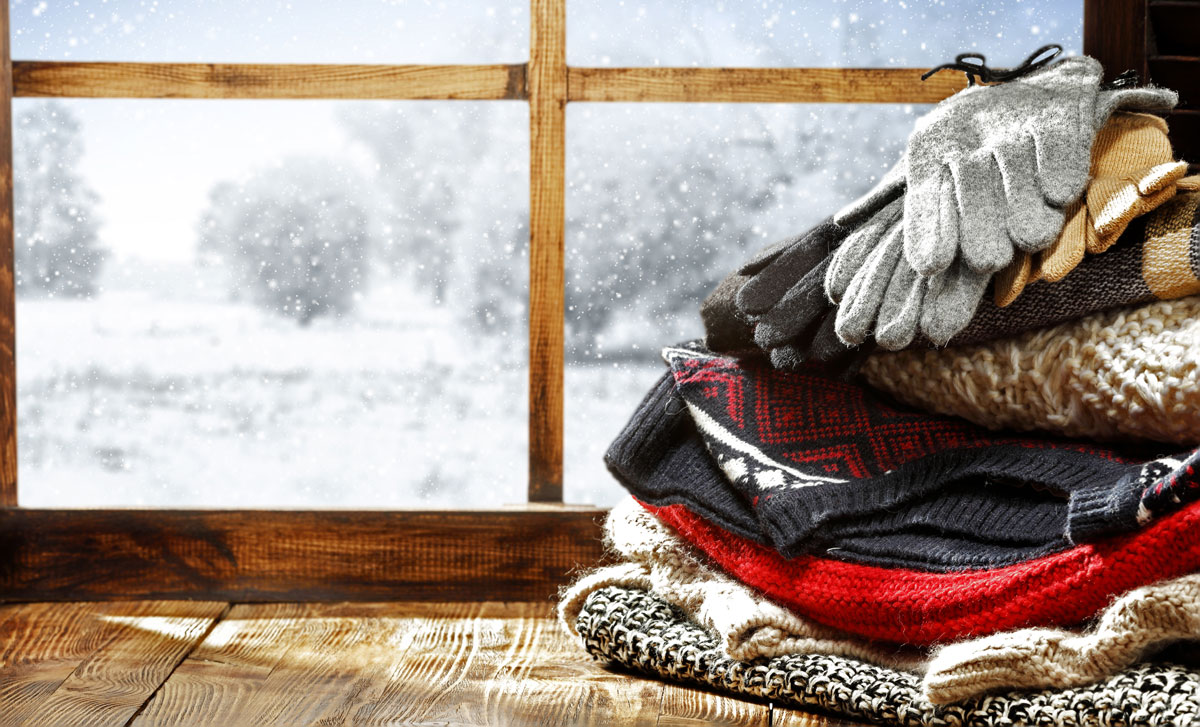 Make your sweaters and your entire winter wardrobe sparkle with Mountaineer Cleaners dry cleaning and laundry services.